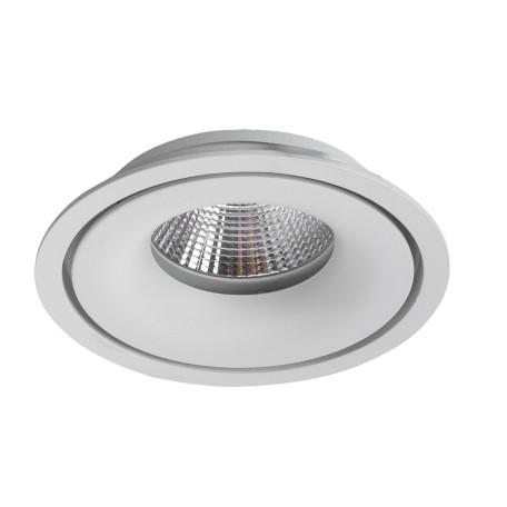 Встраиваемый светодиодный светильник Arte Lamp Instyle Apertura A3315PL-1WH, LED 15W 3000K 1275lm CRI≥80, белый, металл