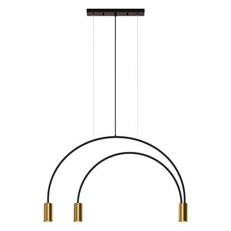 Подвесной светильник Loft It Volta 5043-3, 3xGU10x5W, черный, бронза, металл