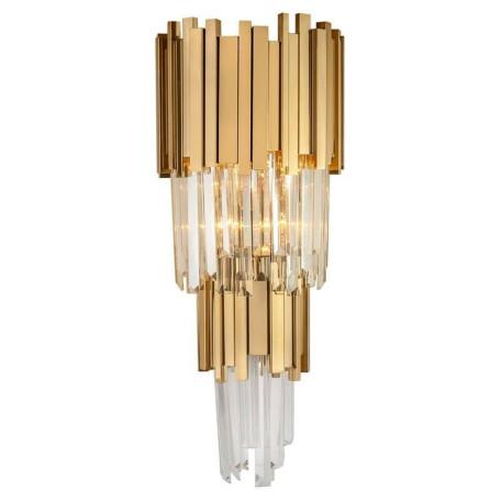 Настенный светильник L'Arte Luce Luxury Empire L21524.92, 4xE14x40W, металл, стекло