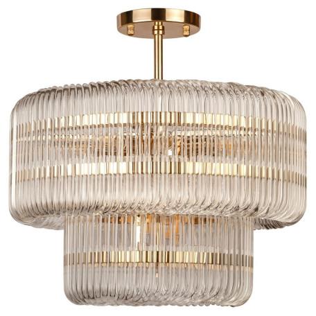 Потолочная люстра L'Arte Luce Luxury Alhombre L23812, 12xE14x40W, металл, стекло