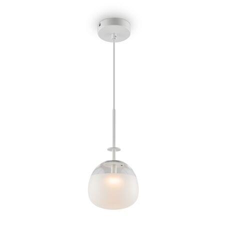 Светодиодный светильник Maytoni Modern Lune P072PL-L2W3K, LED 2W 3000K 200lm CRI80, белый, белый с прозрачным, металл, стекло