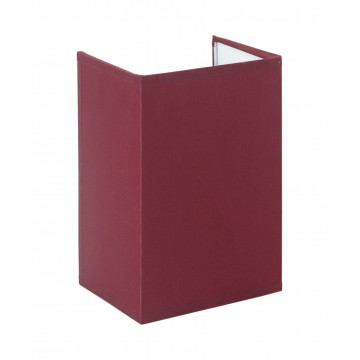Настенный светильник Topdecor Crocus Glade A1 10 03g, 1xE14x40W, белый, бордовый, металл, текстиль