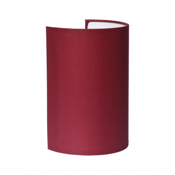 Настенный светильник Topdecor Crocus Glade A2 10 03, 1xE14x40W, белый, бордовый, металл, текстиль