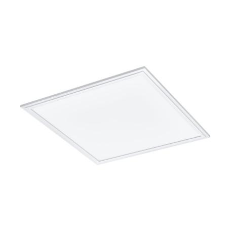 Потолочный светодиодный светильник Eglo Salobrena 1 98129, LED 21W 4000K 2700lm CRI>80, белый, металл, металл с пластиком