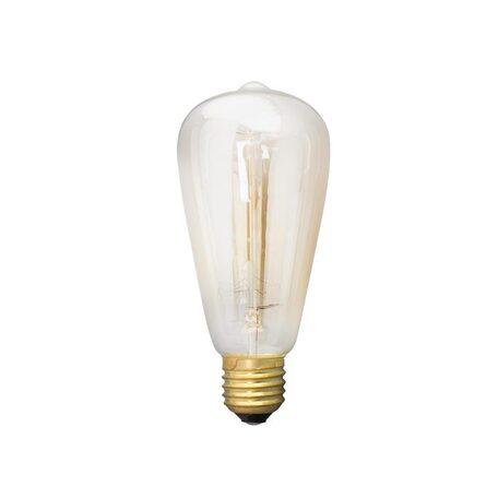 Лампа накаливания Citilux Bulb Loft ST64-19FL ST64 E27 40W, 2600K (теплый) 220V, диммируемая