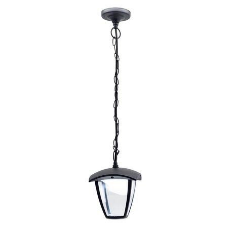 Подвесной светодиодный светильник Citilux CLU04P, IP54, LED 7W 4000K 500lm, черный, прозрачный, металл, металл со стеклом