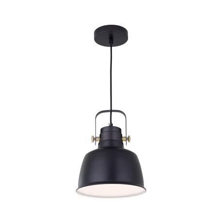 Подвесной светильник с регулировкой направления света Citilux Спенсер CL448113, 1xE27x75W, черный, металл