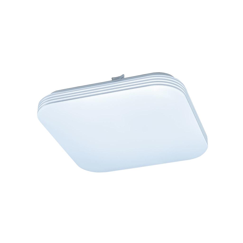 Потолочный светодиодный светильник Citilux Симпла CL714K18N, LED 18W 4000K 1300lm, белый, пластик - фото 1