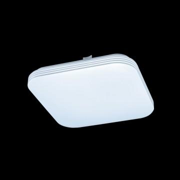 Потолочный светодиодный светильник Citilux Симпла CL714K18N, LED 18W 4000K 1300lm, белый, пластик - миниатюра 2