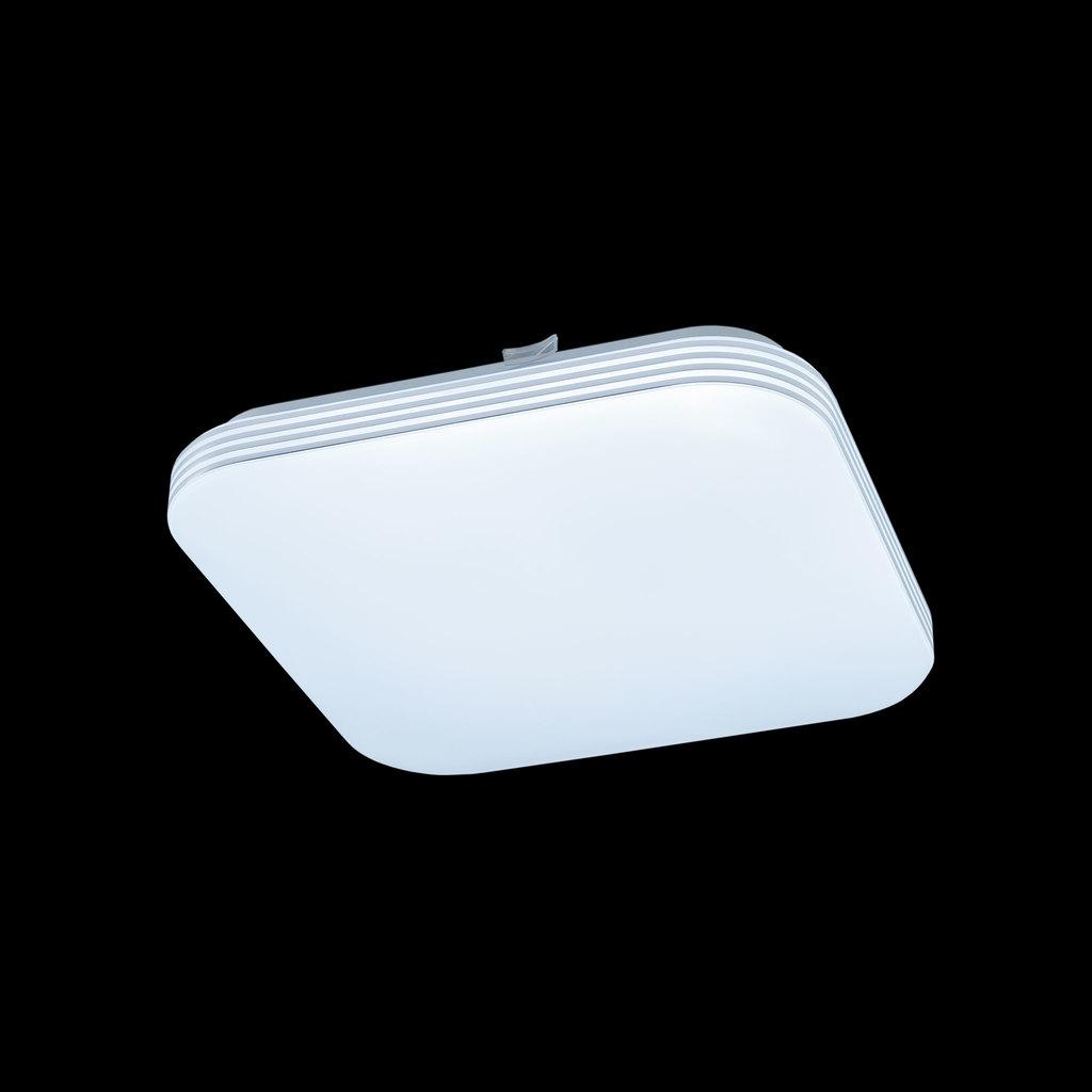 Потолочный светодиодный светильник Citilux Симпла CL714K18N, LED 18W 4000K 1300lm, белый, пластик - фото 2