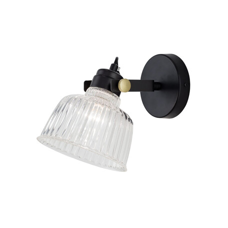 Потолочный светильник с регулировкой направления света Citilux Спенсер CL448311, 1xE14x60W, черный, белый, металл, стекло