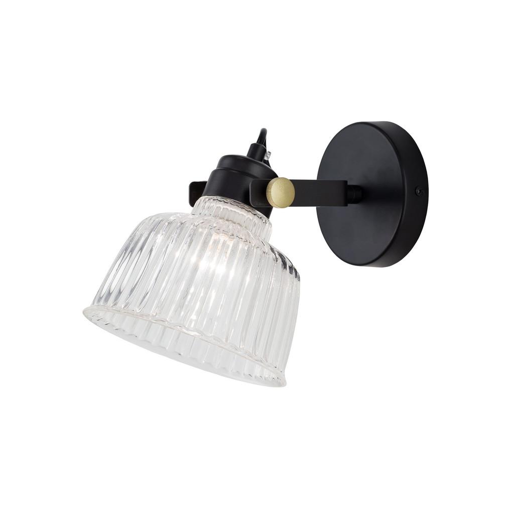 Потолочный светильник с регулировкой направления света Citilux Спенсер CL448311, 1xE14x60W, черный, белый, металл, стекло - фото 1