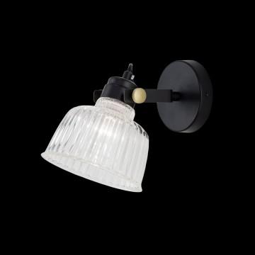 Потолочный светильник с регулировкой направления света Citilux Спенсер CL448311, 1xE14x60W, черный, белый, металл, стекло - миниатюра 2