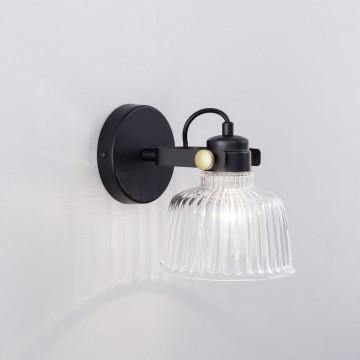Потолочный светильник с регулировкой направления света Citilux Спенсер CL448311, 1xE14x60W, черный, белый, металл, стекло - миниатюра 3