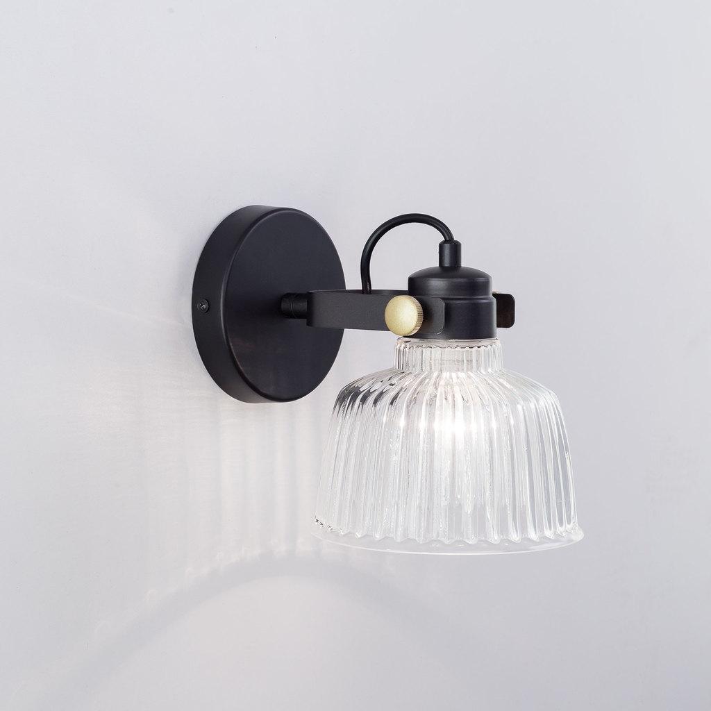 Потолочный светильник с регулировкой направления света Citilux Спенсер CL448311, 1xE14x60W, черный, белый, металл, стекло - фото 3