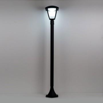 Уличный светодиодный фонарь Citilux CLU04B, IP54, LED 7W 4000K 500lm, черный, прозрачный, металл, металл со стеклом - миниатюра 2