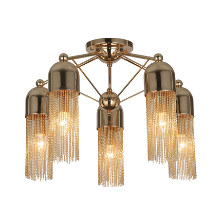 Светильник Favourite Zaria 2739-5P, 5xE14x60W, металл
