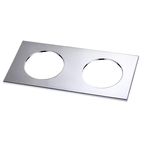 Декоративная рамка Novotech Metis 358250, хром, металл - миниатюра 1