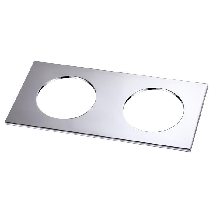 Декоративная рамка Novotech Metis 358250, хром, металл - фото 1