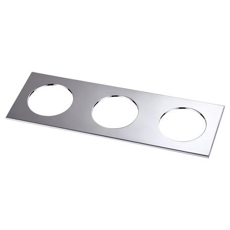 Декоративная рамка Novotech Metis 358251, хром, металл