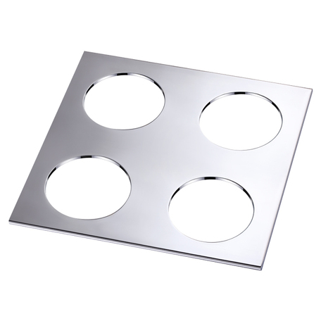 Декоративная рамка Novotech Metis 358252, хром, металл