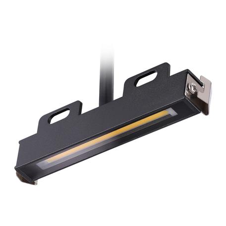 LED-модуль Novotech Muro 358189, IP65, черный, металл со стеклом/пластиком