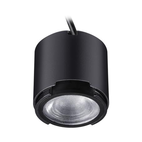 LED-модуль Novotech Melang 358194, черный, металл со стеклом/пластиком