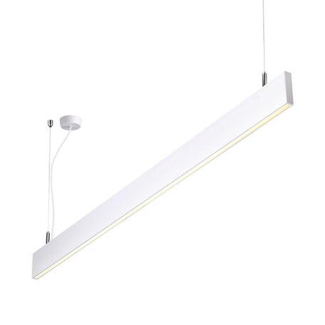 Подвесной светодиодный светильник Novotech Over Iter 358161, LED 40W 4000K 3240lm, белый, металл