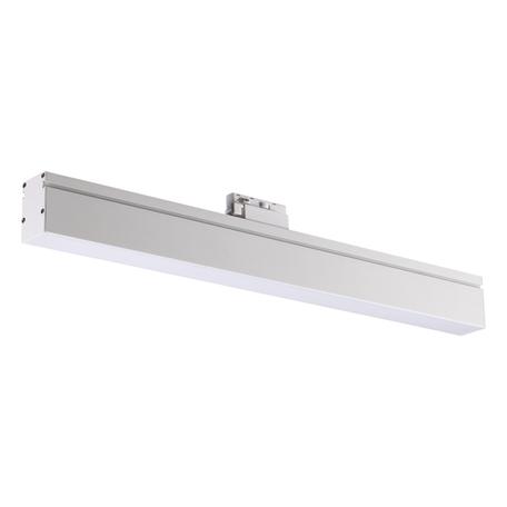 Светодиодный светильник для шинной системы Novotech Port Iter 358185, LED 18W 4000K 1800lm, белый, металл