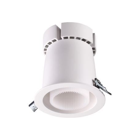 Встраиваемый светодиодный светильник Novotech Spot Varpas 358200, LED 20W 4000K 2000lm, белый, металл