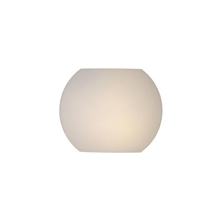 Настенный светильник Lucide Lagan 20226/20/61, 1xE14x40W, белый, стекло
