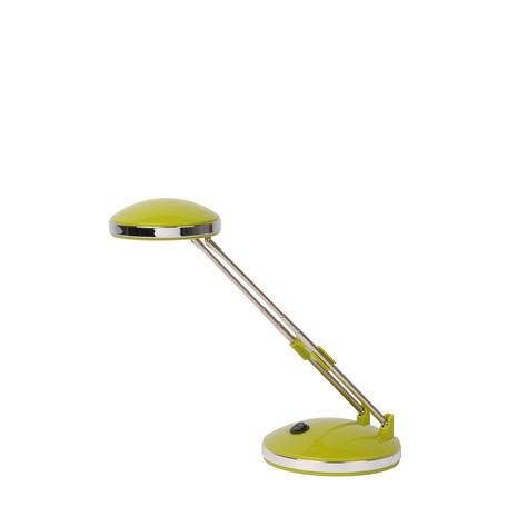 Настольная лампа Lucide Fyloo 18618/02/85, зеленый, хром, металл