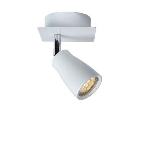 Потолочный светильник с регулировкой направления света Lucide Lana 17949/21/31, IP44, 1xGU10x4,5W, белый, металл