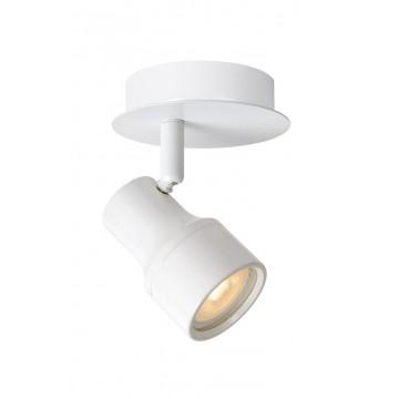 Потолочный светильник с регулировкой направления света Lucide Sirene-LED 17948/05/31, IP44, 1xGU10x5W, белый, металл