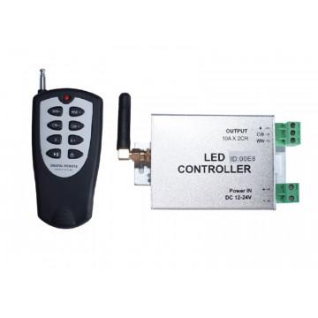 Контроллер с пультом дистанционного управления Donolux DL-18289/Double 12/24V