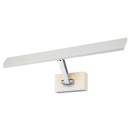 Настенный светодиодный светильник для подсветки картин Lussole Loft Estevan LSP-8328, IP21, LED 6W 3000K 560lm, белый, металл