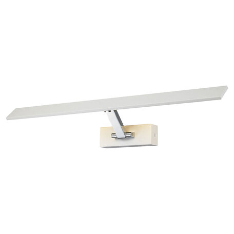 Настенный светодиодный светильник для подсветки картин Lussole Loft Estevan LSP-8329, IP21, LED 12W 3000K 1130lm, белый, металл