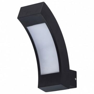 Настенный светильник De Markt Уран 803021001, IP44, черный, металл, пластик