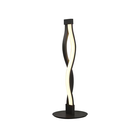 Настольная лампа Mantra Sahara 5402, коричневый, белый, металл, пластик