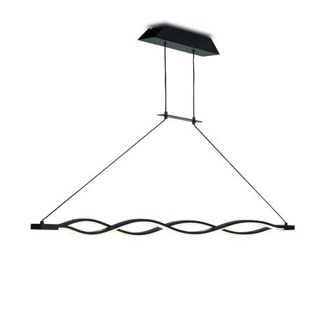 Подвесной светильник Mantra Sahara 5400, коричневый, белый, металл, пластик