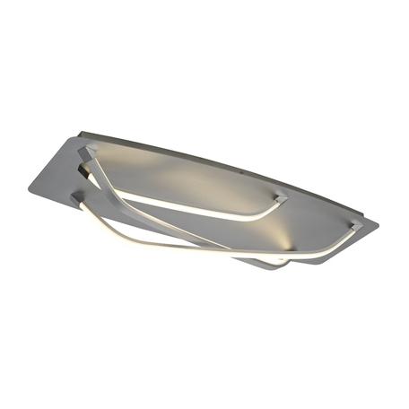 Потолочный светильник Mantra Papua 5572, серебро, белый с серебром, металл, пластик