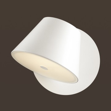 Настенный светильник Odeon Light Charlie 3991/1W, 1xG9x40W, белый, металл, стекло