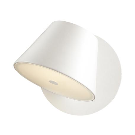 Настенный светильник с регулировкой направления света Odeon Light Charlie 3991/1W, 1xG9x40W, белый, металл, стекло
