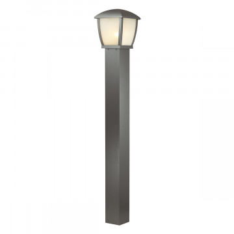 Уличный фонарь Odeon Light Tako 4051/1F, IP44, 1xE27x100W, серый, белый, металл, пластик