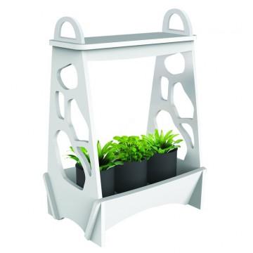 Светодиодный светильник для растений Gauss Фито-сад MG001, LED 14W 4000K 850lm CRI>90, белый, пластик