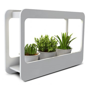 Светодиодный светильник для растений Gauss Фито-сад MG004, LED 14W 4000K 850lm CRI>90, белый, пластик
