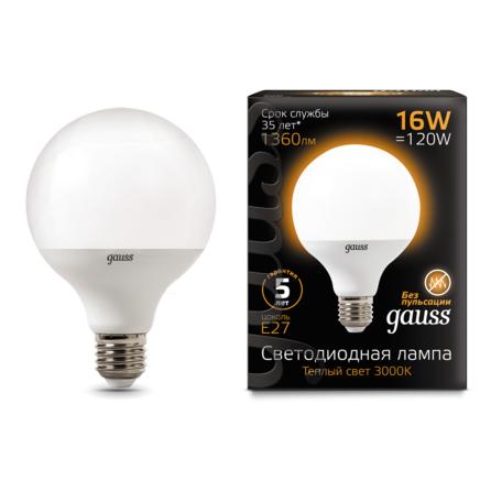 Светодиодная лампа Gauss 105102116, белый