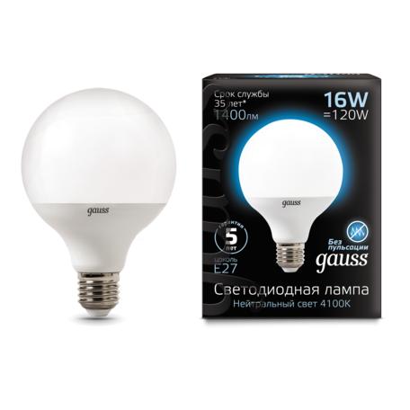 Светодиодная лампа Gauss 105102216, белый