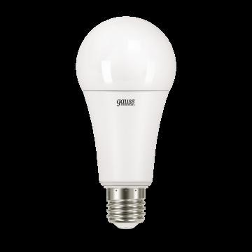 Светодиодная лампа Gauss Elementary 73229 груша E27 30W, 4100K (холодный) CRI>80 180-240V, гарантия 2 года - миниатюра 2