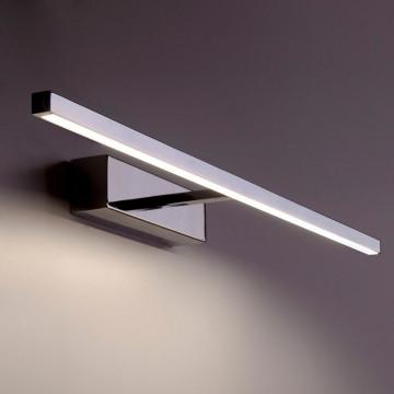 Настенный светодиодный светильник для подсветки картин Nowodvorski Degas 6765, LED 12W 3000K, хром, металл, металл с пластиком, пластик